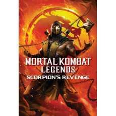 Mortal Kombat Legends: Scorpions Revenge  Complete Movie In DVD/CD...