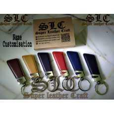 Original Leather Name Customised Key chain