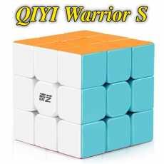 Rubiks cube 3x3 - Mind Puzzle Rubiks cube QIYI Warrior S - Sticker less