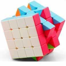Rubiks cube 4x4 - Mind Puzzle Rubiks cube - Sticker less Magic Cube 4x4x4