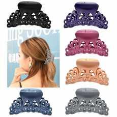 Pack Of 12 catcher ladies hair catchers good plastic hair clip for women...