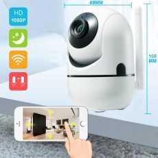 IP WIRLESS 3D TRACKING MINI CAMERA Y4C-ZA 2MP HD 1080P