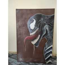 """""""VENOM"""" Oil-painting"""
