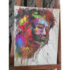 SAD BOY Portrait Painting