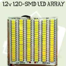 12v 24w 120 Smd Super Bright White Led Light Panel Led Array led Plate led Strip