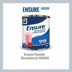 ENSURE® ORIGINAL POWDER - Strawberry - 400Gm Complete, Balanced Nutrition®
