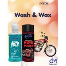 Dazzle Bike Polish and Bike Shampoo Bundle Pack