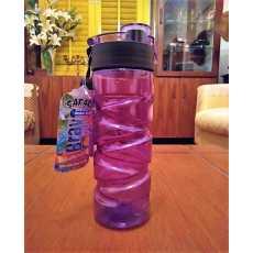 Bravo Water Bottle BPA Free Plastic 575ml for School College University...