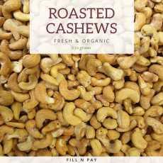Roasted Kaju/Kajo (Roasted Cashew Nut) Premium Quality-0.25kg (250g)