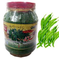 Sikandar's Shikarpuri Pickle- Green Chilli