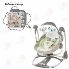 Ingenuity ConvertMe Swing-2-Seat-LIGHT GREY