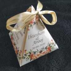 Wedding Cards & Nikkah Bid Box