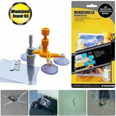 Windshield Repair Kit Windshield Repair Kit Quick Fix Car Cracked Glass...