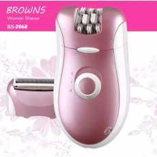 BROWNS BS-2068 ladies hair removing machine shaver epilator threading cutter...
