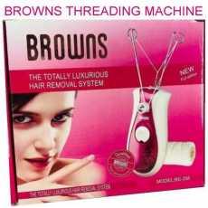 BROWNS BS-358 ladies hair removing machine shaver epilator threading cutter...