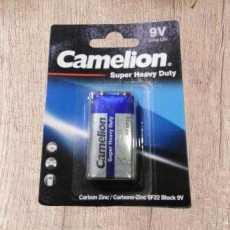 Super Heavy Duty Cell 9V Battery Camelion company