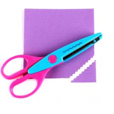 Zig Zag Scissor for Designing Paper, Cards Scrapbook Art and Craft Beautiful...